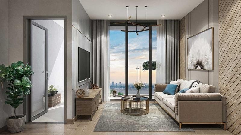 Không gian tiện nghi, hiện đại tại căn hộ chung cư Vinhomes Dream City