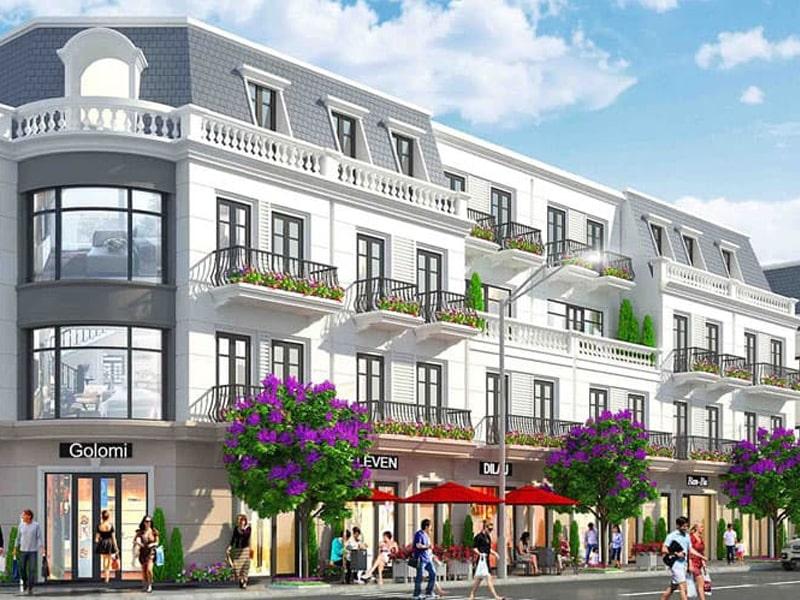 Shophouse Vinhomes Dream City thiết kế có gì đặc biệt?