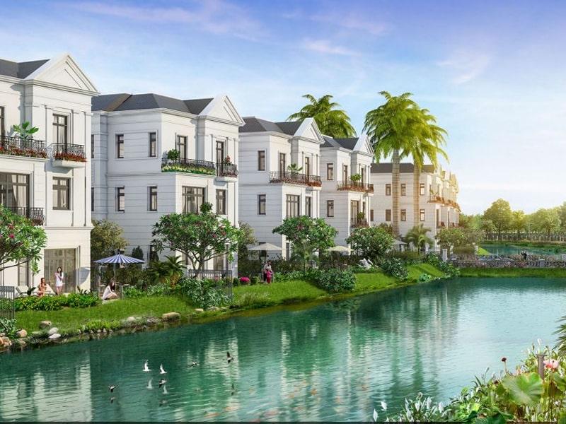 Không gian xanh tại Vinhomes Dream City