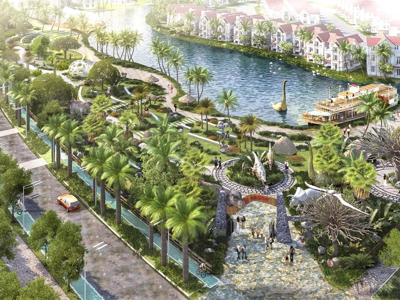 Tiến Độ Vinhomes Dream City 02